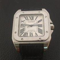 Cartier Santos 100 Médium stainless steel