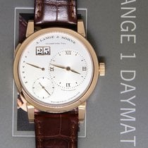 A. Lange & Söhne Lange 1 Daymatic 18k Rose Gold Mens Watch...