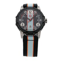 B.R.M GULF Watch W6BT-644 Limited #45/100
