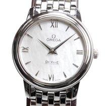 Omega De Ville Stainless Steel White Quartz 424.10.27.60.05.001