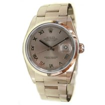 ロレックス (Rolex) Datejust Men's 16200 Stainless Steel Oyster...