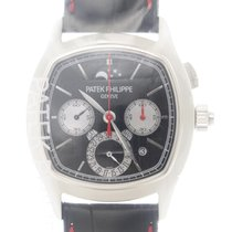 Patek Philippe New  Grand Complications 18k White Gold Black...