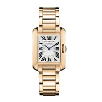 Cartier Tank Anglaise Quartz Ladies Watch Ref W5310013