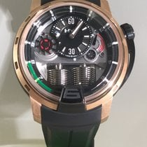 HYT H1 black DLC & pink gold