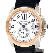 Cartier Calibre De Cartier W7100039 Steel, Pink Gold, 42mm