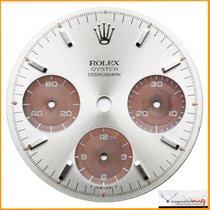 Rolex Dial Daytona Silver 6263 6265 Tropical Sub Dial St #44-CSD