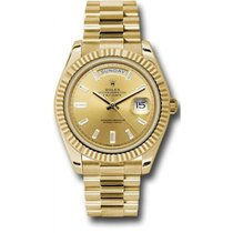 Rolex Day-Date 40 228238 18K Yellow Gold 40MM Champagne Dial,...