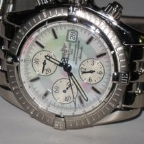 Breitling Chronomat Evolution 18K Solid Gold Pearl Limited...
