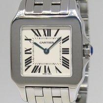 Cartier Santos Demoiselle Stainless Steel Ladies Quartz Watch...