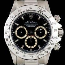Rolex S/Steel Black Dial Cosmograph Daytona Gents B&P 16520