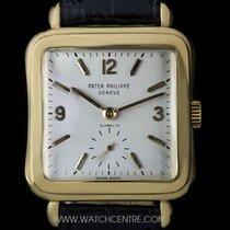 Patek Philippe 18k Y/G Double Name Gubelin Vintage Gents 2493
