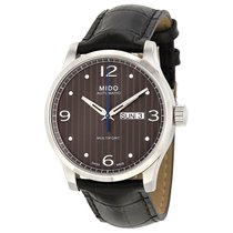 Mido Men's Multifort Black Dial Automatic Watch
