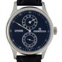 Revue Thommen Regulator Stahl Automatik 42mm