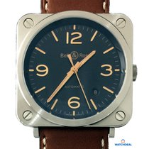 Bell & Ross BR S Golden Heritage BRS92-G-HE-ST