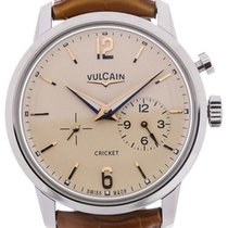 Vulcain 50s Presidents Watch 42 Automatic Beige Dial