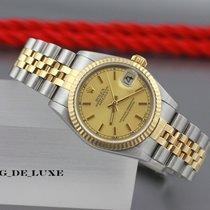 Rolex Datejust Medium Automatik Stahl Gold Damenuhr Ref. 78273