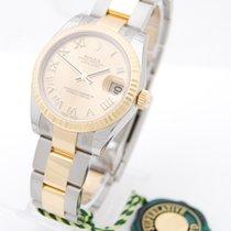 Rolex Datejust 31mm Stahl/Gold Box & Papiere 2017