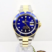Rolex Submariner 16613 with Box & Papers SEL Gold Buckle