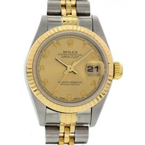 Rolex Oyster Perpetual Datejust 69173 18K YG & SS