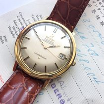 Omega FULL SET Omega Constellation 1967 solid gold with Box...