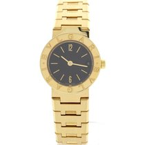 Bulgari 18K Yellow Gold Date Watch BB 23 GGD