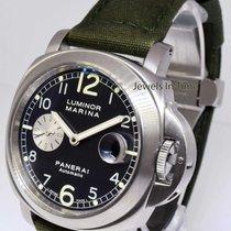 Panerai Luminor Marina 86 Steel Watch Anthracite Dial PAM00086