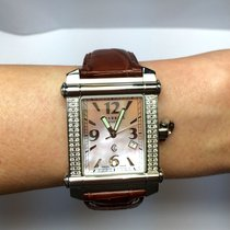 Charriol Genéve Steel Mens Watch Factory Diamonds &...