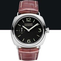 Panerai PAM 00337 PAM 337 - Radiomir Base in Steel - on Brown...