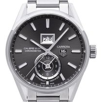 TAG Heuer Carrera Calibre 8 GMT Automatik 41 mm WAR5012.BA0723