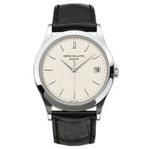 百達翡麗 (Patek Philippe) 5296G-010 White Gold Men Calatrava 38mm...