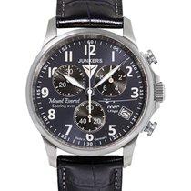 Junkers Mountain Wave Project Eta Quartz Watch Blu/bk Dial...