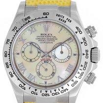 Rolex Beach Collection Daytona 18k White Gold Men's Watch...