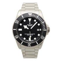 튜더 (Tudor) New  Pelagos Steel Black Dial Automatic Mens Watch...