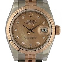 Rolex Datejust Lady Stahl Roségold Everose Diamond Perlmutt...