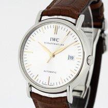 IWC Portofino Automatic Silver Dial Ref. 3563 353702 NEW Strap...