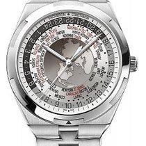 Vacheron Constantin Overseas World Time Silver Dial Mens Watch...