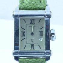 Philippe Charriol Herren Uhr Columbus Stahl/stahl 37mm Rar