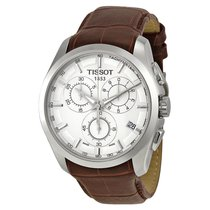 Tissot Couturier Silver Dial Chronograph Mens Watch T035617160...