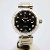 Omega LADYMATIC OMEGA CO-AXIAL 34 MM mit Box und Papieren aus...