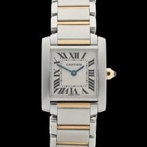 Cartier Tank Francaise Stainless steel & 18k yellow gold...