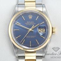 Rolex Datejust 16203 Stahl Gelbgold 750 36 mm Automatik Date Just