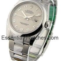 Rolex Unworn 116200_cream_arabic_jub Mens DATEJUST with Oyster...