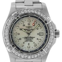 Breitling Superocean Men's 43mm White Dial Stainless Steel...