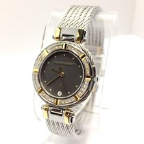 Charriol 18k Yellow Gold & Steel Unisex Watch W/ Diamonds...