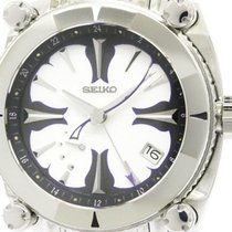 Seiko Galante Spring Drive Gmt Power Reserve Watch Sbla053(5r6...