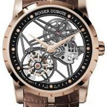 로저드뷔 (Roger Dubuis) Skeleton flying tourbillon T