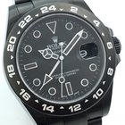 Rolex Explorer II 2 DLC Black Ghost Edition Lagernd