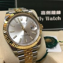 Rolex Cally - 2017 New Model DATEJUST II 126333 Silver Stick