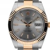Rolex Datejust 41 Stahl Gelbgold Automatik Armband Oyster...