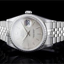 Rolex Datejust (36mm) Ref.: 16220 mit Zifferblatt in Silber...